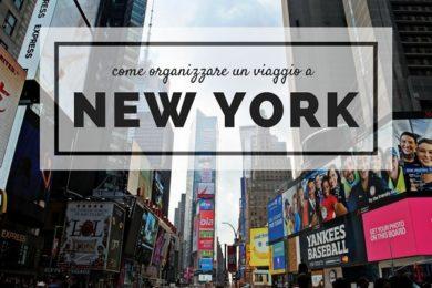 organizzare viaggio a New York