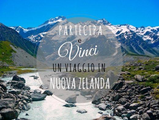 vinci un viaggio in Nuova Zelanda