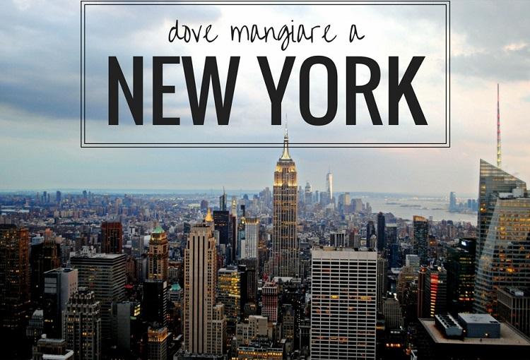 Dove mangiare a new york dalla colazione alla cena for Dove soggiornare a new york