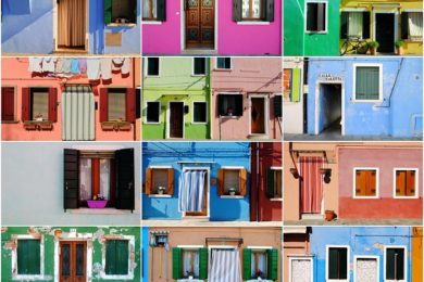 Isola Burano Venezia case colorate (1)