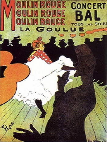 Moulin Rouge - La Goulue, 1891.