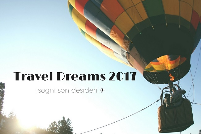 travel dreams 2017