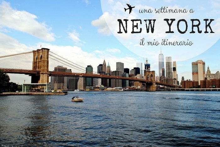 dda8021e1b Una settimana a New York: il mio itinerario | Sempre in Partenza