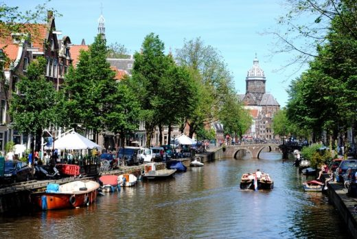 tre giorni ad amsterdam